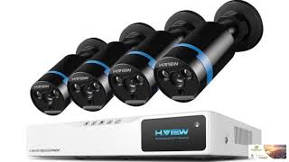 H.VIEW Security Camera Surveillance System Home FREE SHIPPING!