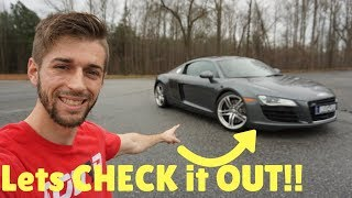FULL TOUR of My NEW Audi R8!