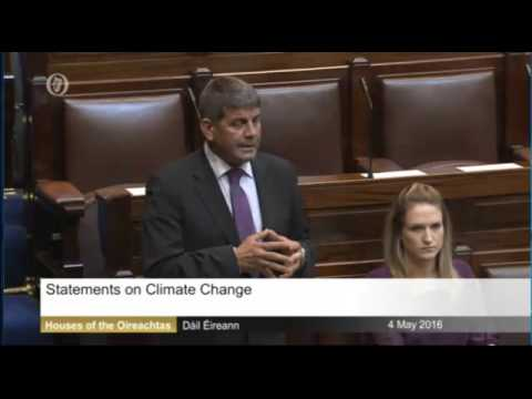 Andrew Doyle TD, Dail 04-05-2016 Climate Change