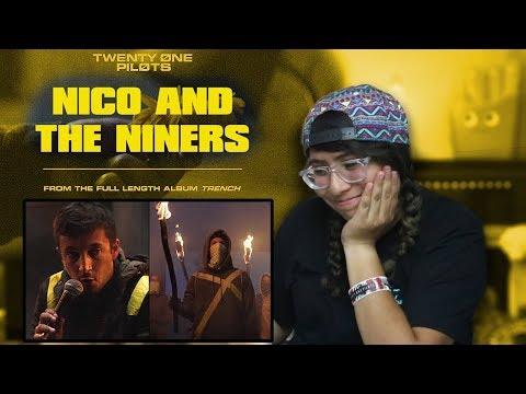 REACTING TO TWENTY ONE PILOTS NICO & THE NINERS MUSIC VIDEO