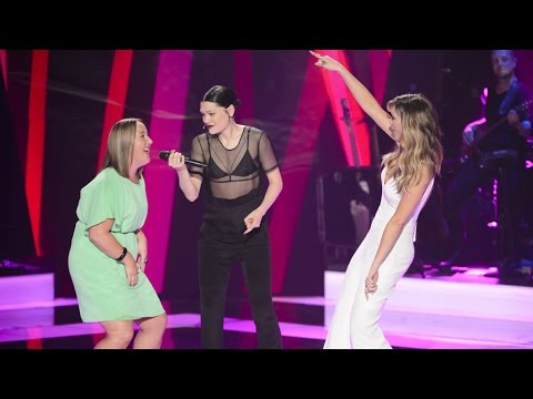 Jessie J, Delta And Cath Adams Sing 'Work It Out' | The Voice Australia 2015