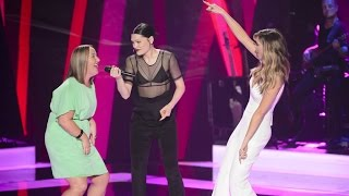 Jessie J, Delta and Cath Adams sing