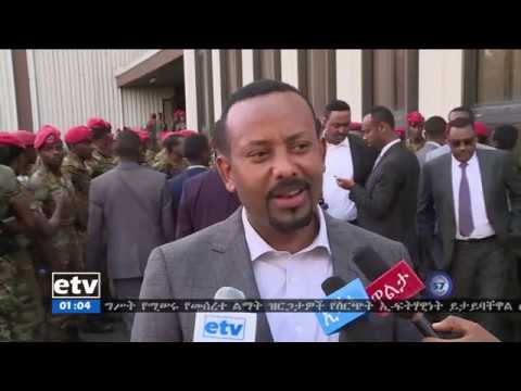 Dr. Abiy Ahmed's Message