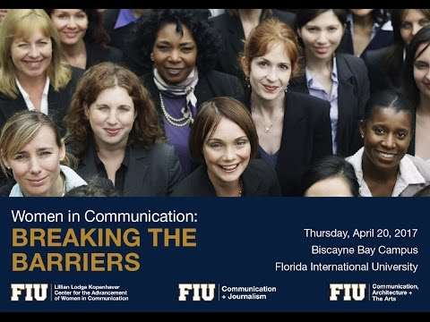 Women in Communication: Breaking the Barriers (Thought Leadership Panel: Where do we go from here?)