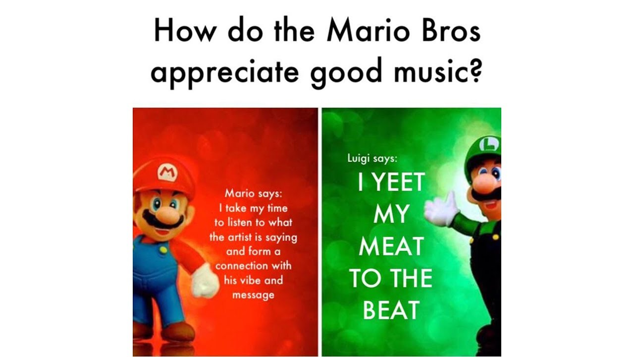 Mario Bros Views Memes Compilation Youtube