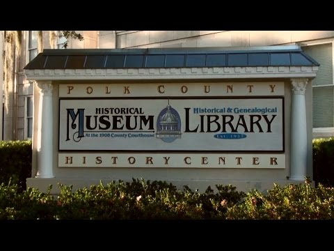Polk County History Center Tour