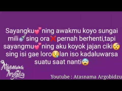 Caption Jowo Sangar Romantis Nusagates