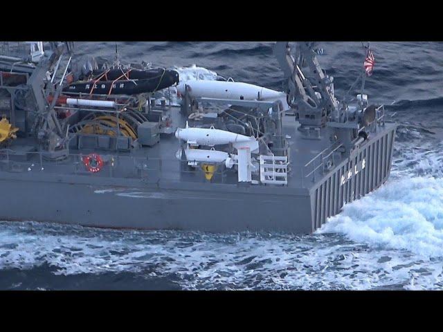 海自の掃海艇と漁船が衝突 けが人なし 佐賀・唐津沖
