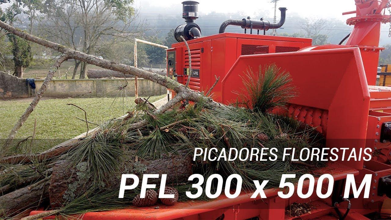 Picador Florestal Castor 500 picado troncos de podas
