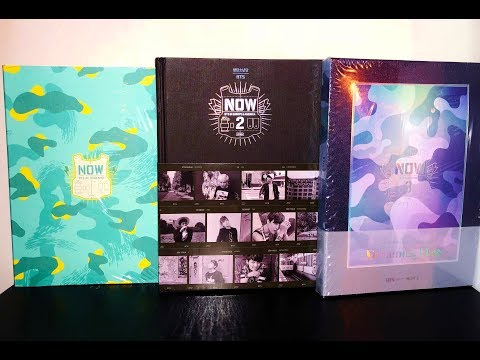 UNBOXING ♡ BTS (방탄소년단) NOW 1, 2 & 3