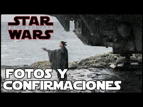 Star Wars Fotos y Filtraciones Confirmadas! - Novela de Phasma, Princesa Leia y Mas!