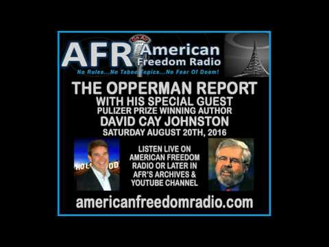 """The Making of Donald Trump"" Pulitzer Prize Winning Author David Cay Johnston With Ed Opperman"