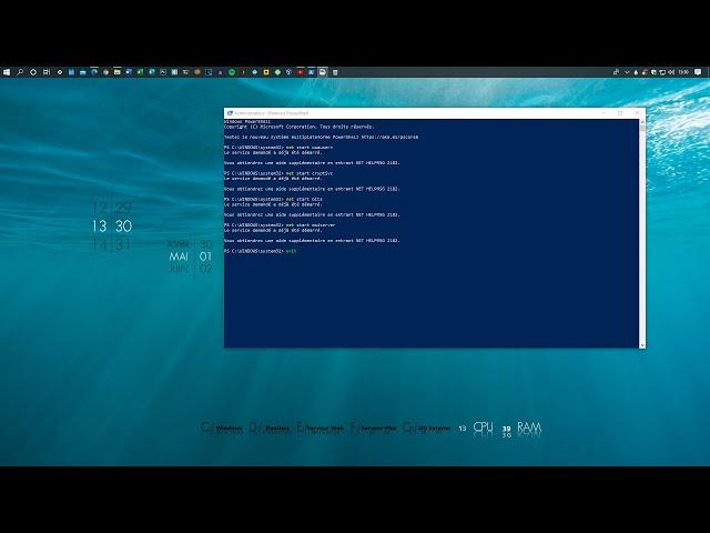 Réinitialiser complètement le service Windows Update de Microsoft