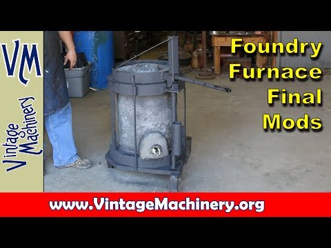 Building an Oil Fired Foundry Furnace - Part 10:  Final Modifications