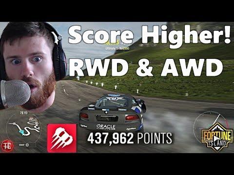 Forza Horizon 4 Fortune Island: How To Score Higher on Needle Climb! RWD & AWD Tutorial thumbnail