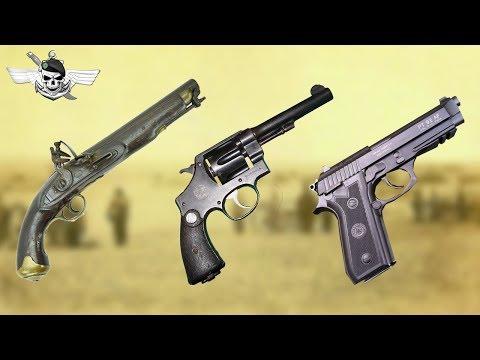 Pistolas do Exército ao Longo da História