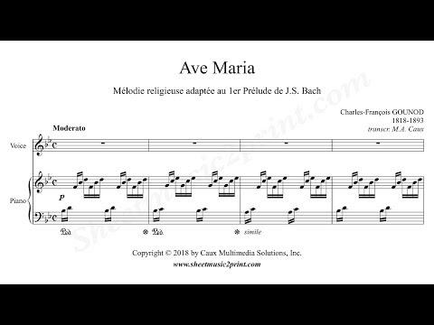 Gounod : Ave Maria - B flat Major