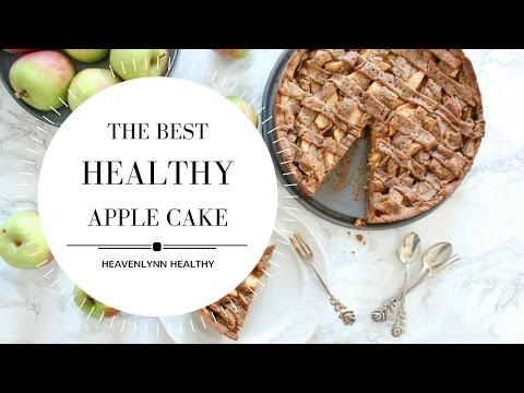 The best healthy apple cake | Heavenlynn Healthy & Kitchen Stories