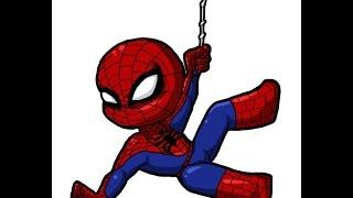 Ich drehte Spiderman!!! Roblox