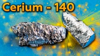 Cerium - A Metal, which forms BRIGHT SPARKS!
