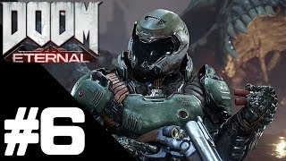 DOOM ETERNAL Walkthrough Gameplay Part 6 – Arc Complex Mission – PS4 No Commentary