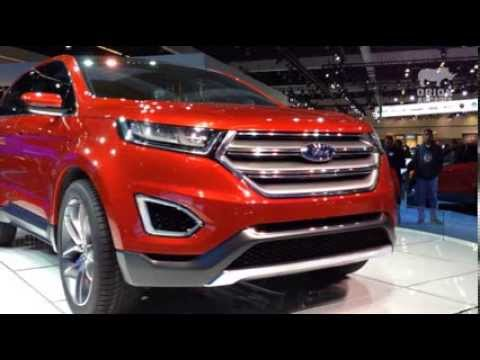 Ford Edge Concept At The 2013 La Auto Show Youtube
