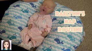 Reborn Baby Raelynn's Nap Routine! Newborn Goes For A Nap