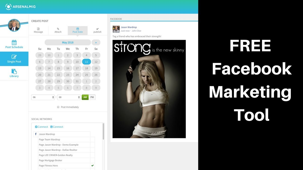 100% FREE Facebook Marketing Tool For Small Businesses – My Facebook Marketing Gift To Subscribers!