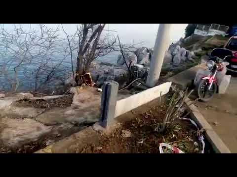 Zonguldak Dev Dalga Fener kıyısını