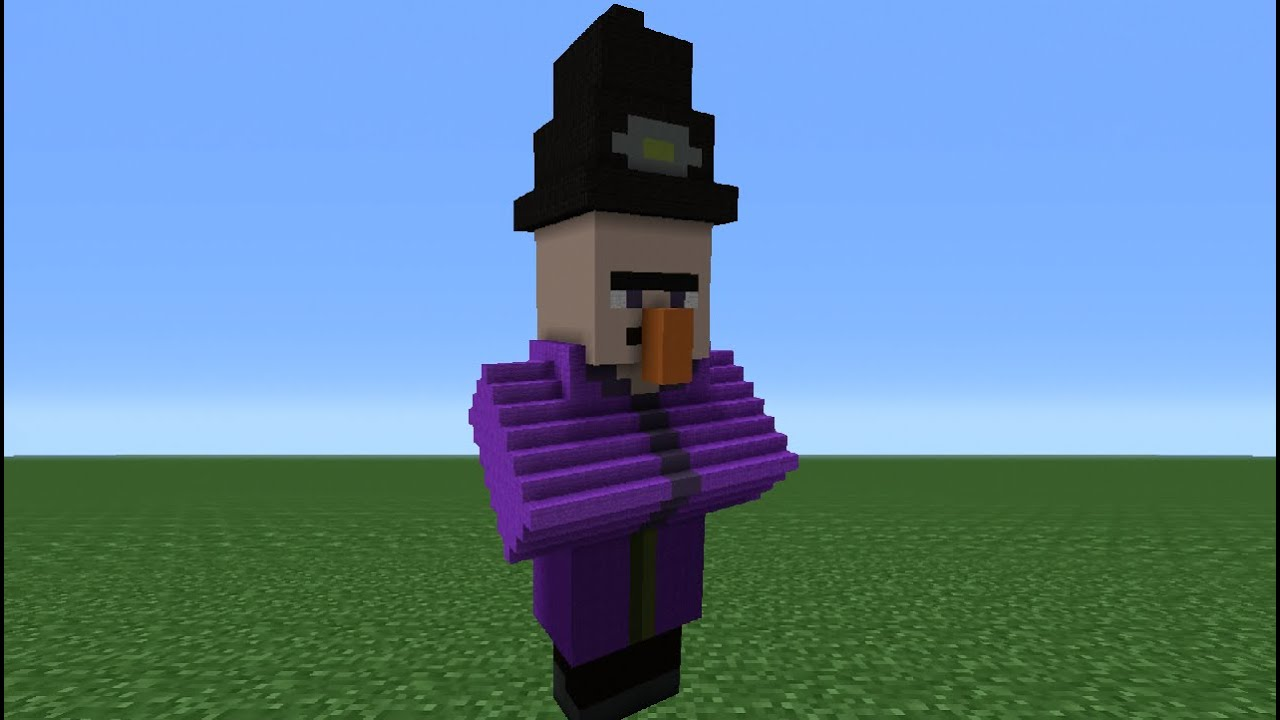 minecraft tutorial  how to make a witch