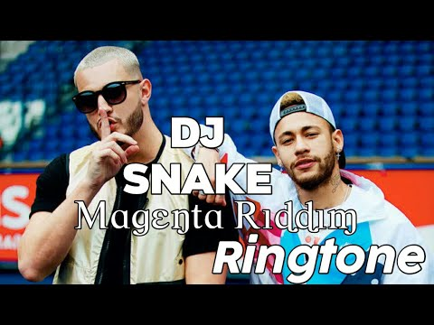 Dj Snake Magenta Riddim Latest English Ringtone | RH Ringtone | Best English Ringtones Apple Remix