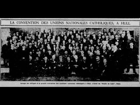 HQC4 - P6 - Les nationalismes et l'autonomie du Canada - 08 - Mouvement syndical