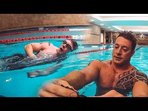Attempting The Navy Seal Swim Test | Combat Sidestroke