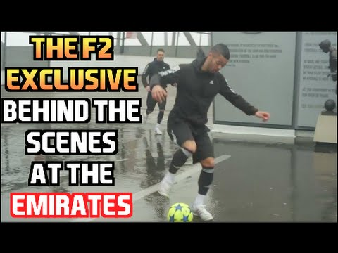 F2 Exclusive Behind The Scenes at the Emirates