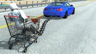 Out Of Control Crashes #9 - BeamNG Drive Car Crashes/Fails