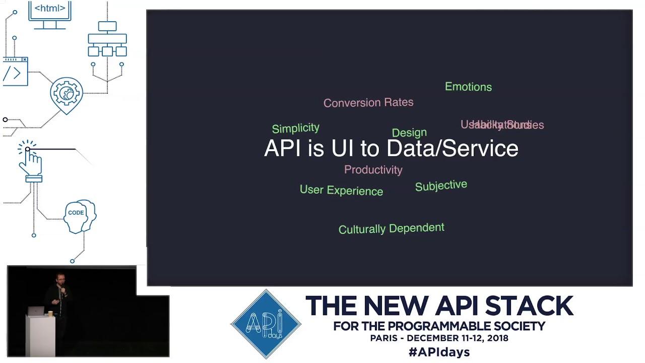 Harmony in API Design, Jakub Nesetril, VP Product Development, Oracle,  APIdays Paris 2018