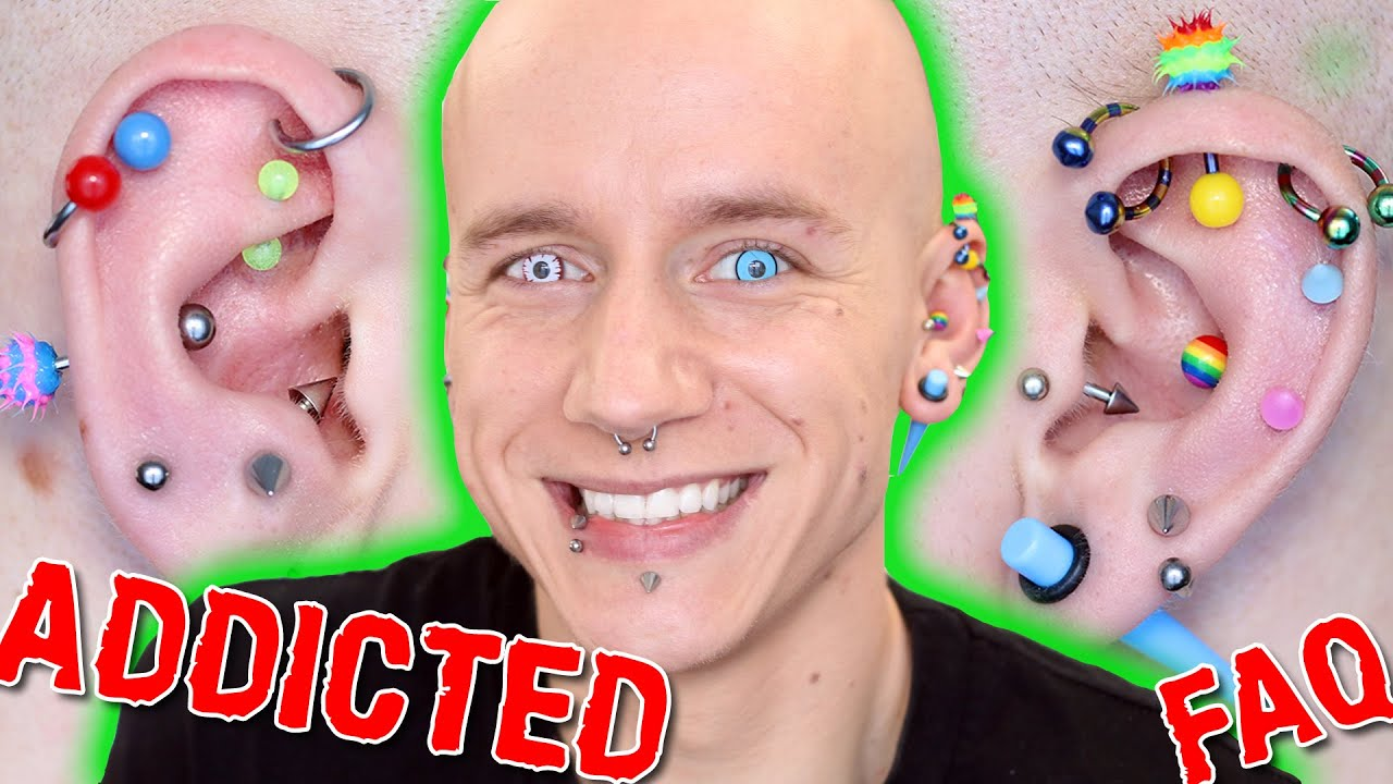 Download 20 Piercings, Keloids & Horror Stories | Piercing FAQ 2 | Roly