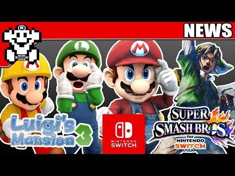 Alle Nintendo E3 Titel bekannt? - Luigis Mansion 3? - Super Mario Maker 2?  - NerdNews #235