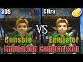 Nintendo 3DS vs Citra   Part 2  Emulator vs Console   Comparison
