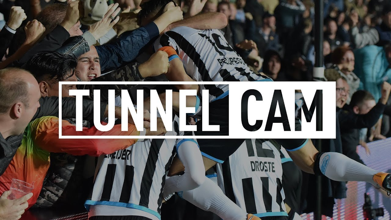Heracles Almelo - Roda JC 2-1 | 23-09-2017 | Tunnel Cam