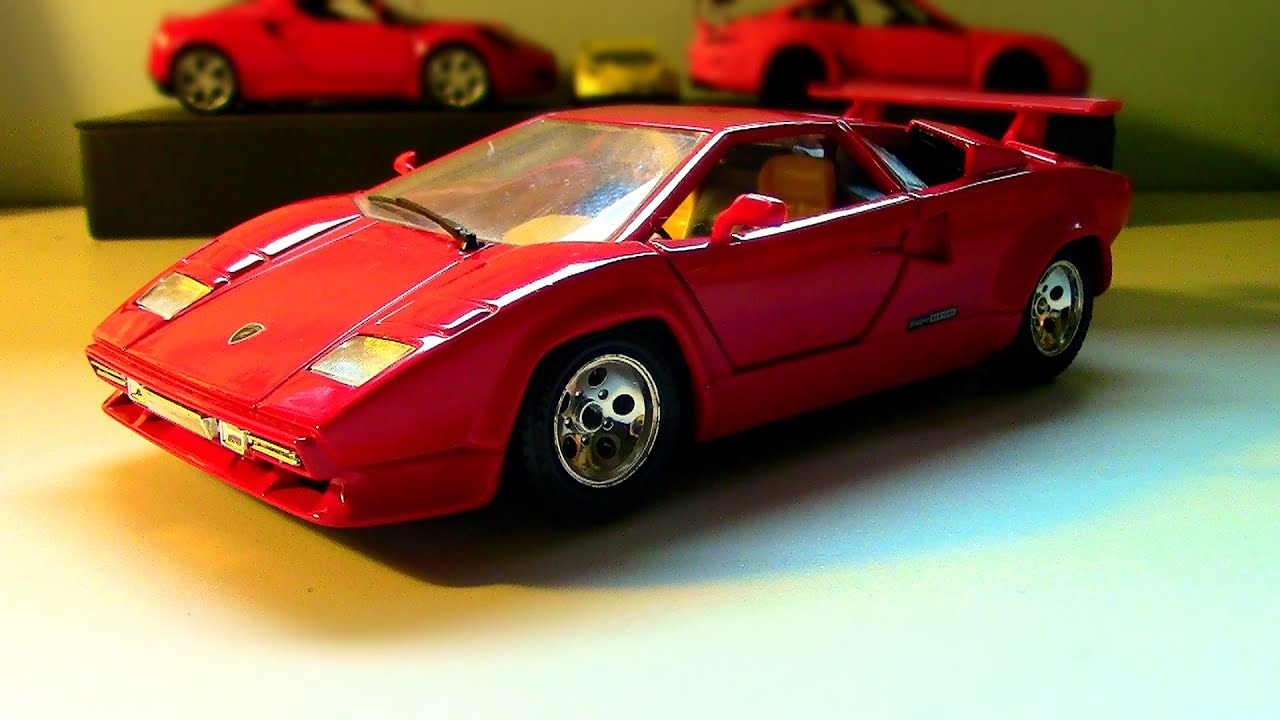 Burago 1:24 Lamborghini Countach Review