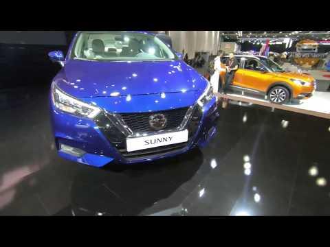 2020 Nissan Sunny Walk-around review Malayalam   2019 Dubai Motor Show