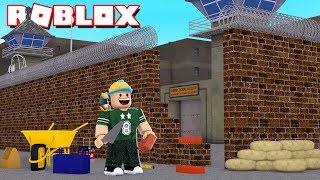 WE BUILD OUR OWN JAILBREAK IN ROBLOX