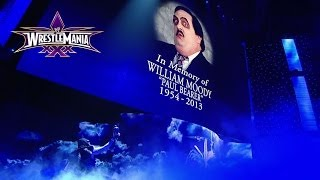 The Undertaker pays his respects to 2014 WWE Hall of Fame Inductee Paul Bearer