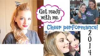 Get Ready With Me: Cheer Performance! | Avrey Elle Thumbnail