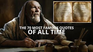 The 70 Most Faṁous Quotes of All Time