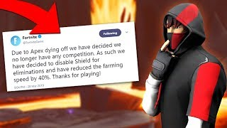 The SECRET Reason Why Fortnite REMOVED Shield for Kills and when it's COMING BACK!