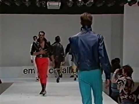 Emilio Cavallini Spring-Summer 1989 | part 3/3 |