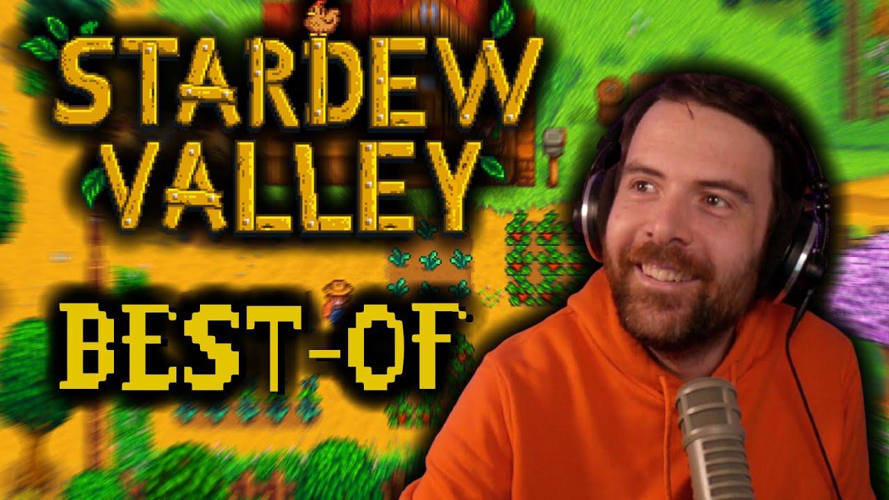STARDEW VALLEY ft. Antoine Daniel, Baghera, Mynthos, Angledroit, Lunatic & Horty (Best-of Twitch)