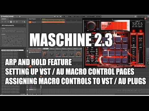 how to add plugins to maschine